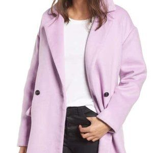 Leith Double Breasted Oversized Coat